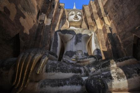 stu: Beautiful Phra Atchana,Sri Chum temple, the Sukhothai Historic Park, Thailand  Stock Photo
