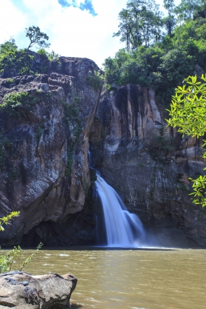 namtok: Chat trakan waterfall in namtok chat trakan national park, phitsanulok province ,Thailand Stock Photo