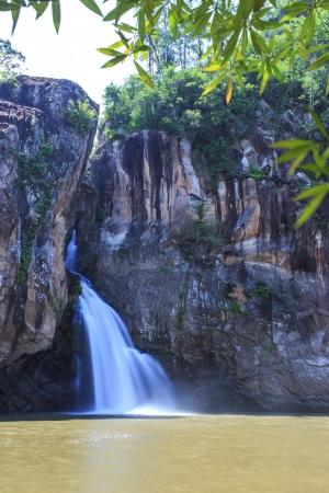 Chat trakan waterfall in namtok chat trakan national park, phitsanulok province ,Thailand photo