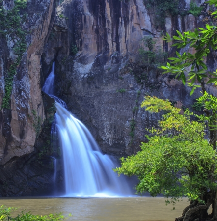 Chat trakan waterfall in namtok chat trakan national park, phitsanulok province ,Thailand photo