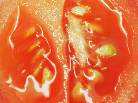 Closeup photo of tomato  photo