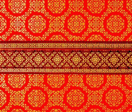 Thai texture in thailand Temple photo
