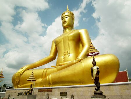 The Big Buddha in thailand  Stock Photo - 12407252