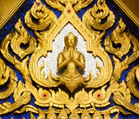 Thai art in temple Stock Photo - 12722277