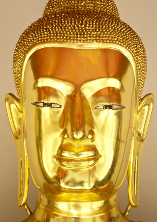 Buddha gold statue close-up Stock Photo - 13120335