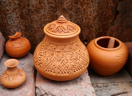 Shaker crafts, pottery of theThailand people
