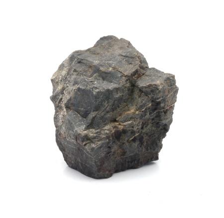 stone Granite,isolated on white nice Standard-Bild