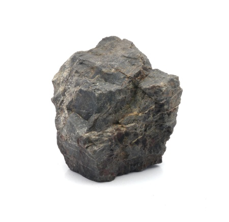 stone Granite,isolated on white nice Stock fotó