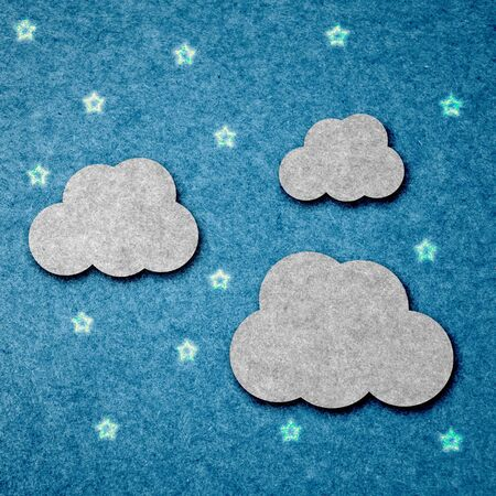 Cloud background paper