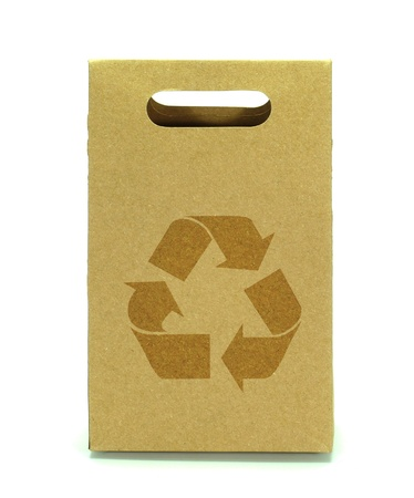 degradable: Recycled paper bags