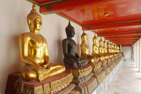 transcendental: Buddha, Wat Pho thailand