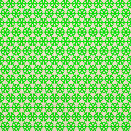 Seamless  pattern with snowflakes on paper background photo