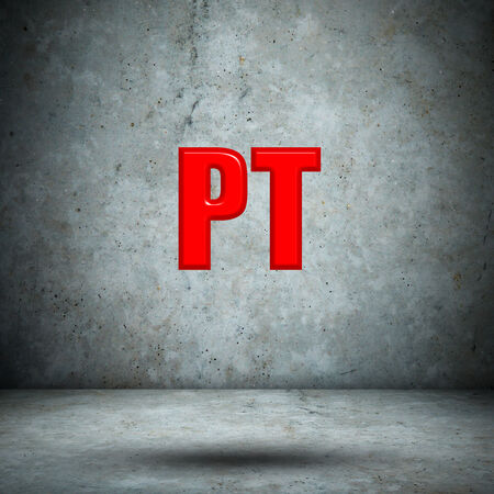 isotope: PT concrete wall