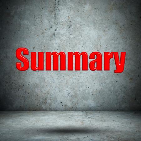summary: Summary concrete wall Stock Photo