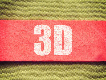 stereoscope: text on Background old retro vintage style Stock Photo