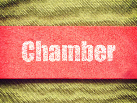 central chamber: text on Background old retro vintage style Stock Photo
