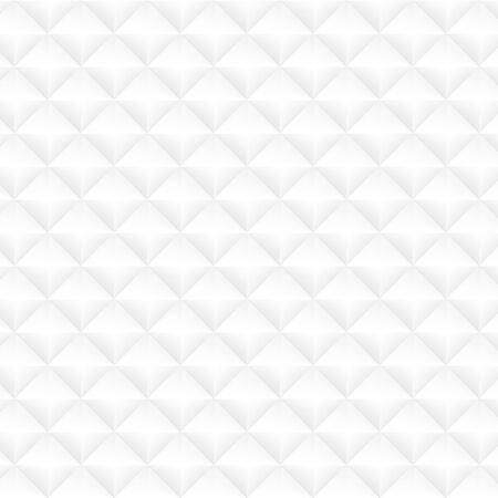White geometric texture. Vector seamless background photo