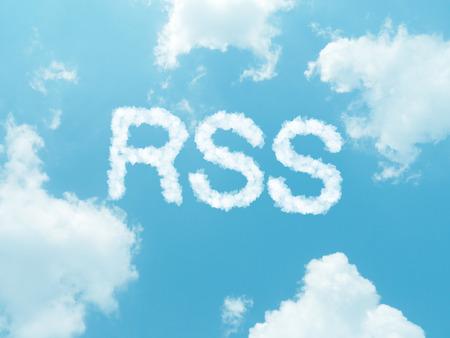 extensible: palabras de nubes con el dise�o de fondo de cielo azul