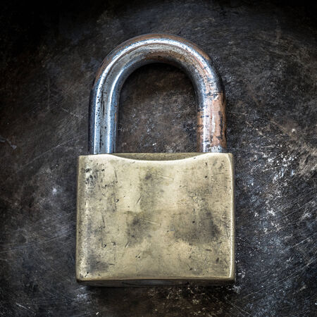 circumspect: Old padlock