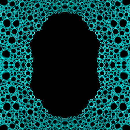 bubbly: abstract Foamy bubbly water texture background