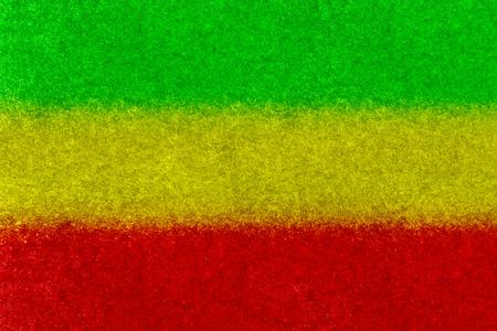 reggae: Contexte texture du papier Drapeau Rasta