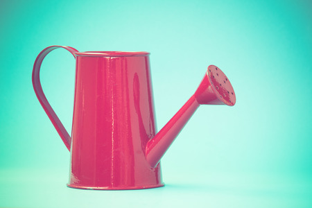 watering can old retro vintage style photo