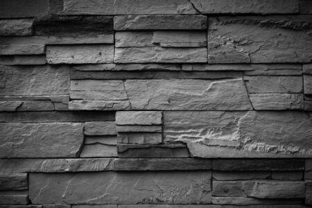mur noir: Noir mur de pierre de fond Banque d'images