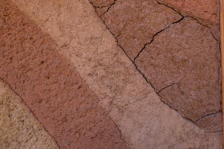 turba: peat soil as a background Foto de archivo