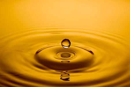 quicksilver: close up of a drop of oil