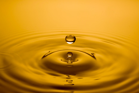 close up of a drop of oil Stock Photo - 51895410