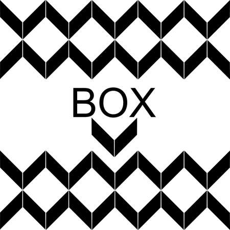 box design: symbol vector box design for company and business