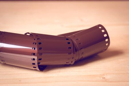 35mm: 35mm negative film with filter effect retro vintage style