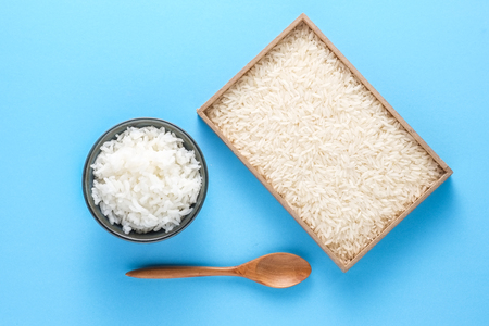 staple food: Rice, the staple food of Asians