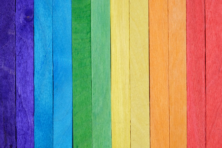 lumber room: Colorful wood wall background texture Stock Photo