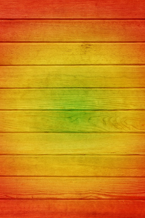 Reggae Colour And Wooden Floor Texture Background Stock Photo ...