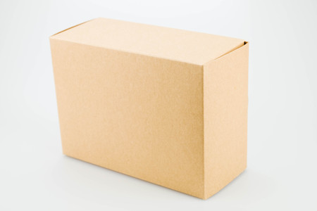 moving crate: box on white background