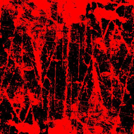 Grunge style Halloween background with blood splats Illustration