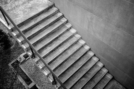 Treppenhaus architektur detail  Hellraum - Moderne Geometrische Treppe Mit Weißen Wänden Lizenzfreie ...