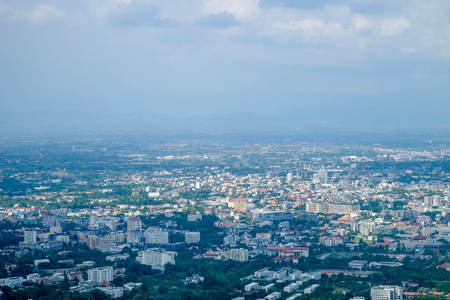 Cityscape .Chiang Mai Thailand is both a natural and cultural destination in Asia. Stock Photo