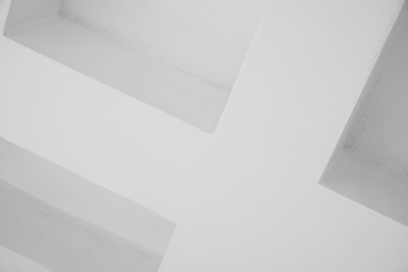 Abstract lines on architecture. modern architecture detail. Refined fragment of contemporary office interior / public building.