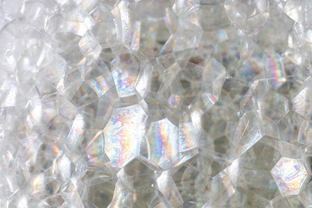 Abstract background white soapy foam texture. Shampoo foam with bubbles 写真素材