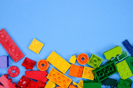 chiang mai, THAILAND - MAY 27, 2018: Lego is a line of plastic construction toys that are manufactured by The Lego Group, a privately held company based in Billund, Denmark. Redactioneel
