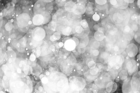 Christmas bokeh background texture abstract light glittering stars on bokeh. glitter vintage lights background Stock Photo