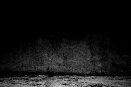 추상적 인 배경 검은 방 어두운 콘크리트 벽 및 바닥 스톡 콘텐츠 - 104907369