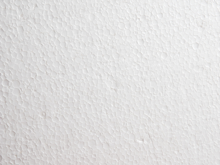 Close Up of Polystyrene foam texture background Stock Photo - 105452626