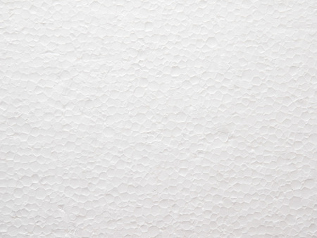 Close Up of Polystyrene foam texture background Foto de archivo