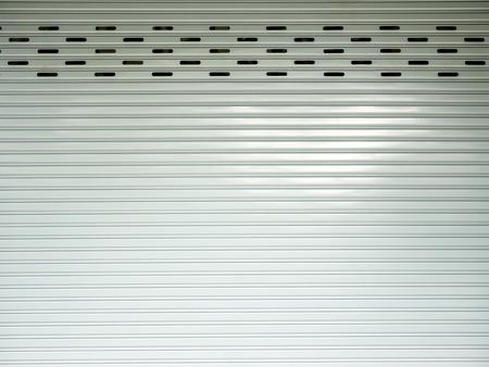 corrugated metal sheet,white Slide door ,roller shutter texture