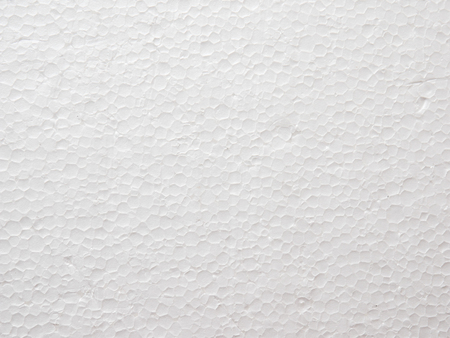 Close Up of Polystyrene foam texture background Stock Photo