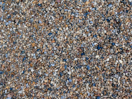 Abstract background texture, Colorful sea stones, top view