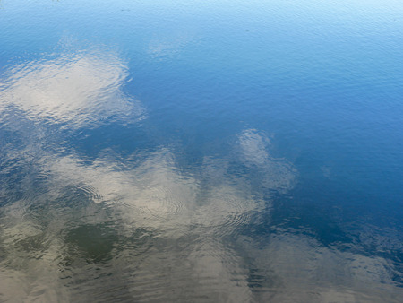 Abstract water reflection texture background